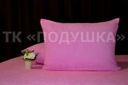 Купить розовые махровые наволочки на молнии в Воронеже