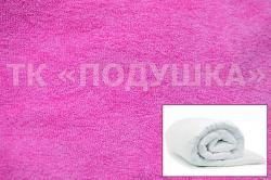 Купить розовый махровый пододеяльник  ТМ Подушка в Воронеже