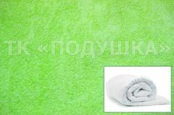 Купить салатовый махровый пододеяльник  в Воронеже