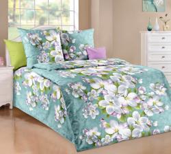 Постельное белье из бязи «Яблоня в цвету» (1.5 спальное)  ТМ ТексДизайн